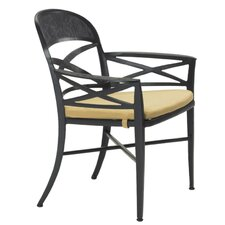 <strong>Tropitone</strong> Antico Dining Arm Chair with Cushion
