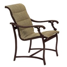 <strong>Tropitone</strong> Ravello Padded Sling Dining Arm Chair