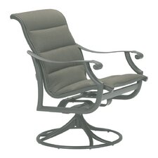 <strong>Tropitone</strong> Montreux Padded Sling Rocking Chair