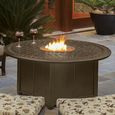 Garden Terrace Table with Firepit