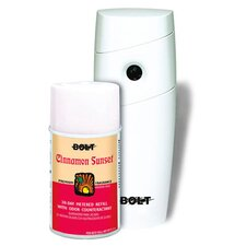 "9.5"" x 4"" x 3"" Air Freshener Starter Kit in Cinnamon White"