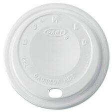 Cappuccino Dome Sipper Lids for 8-10 oz Cups (Carton of 1,000)