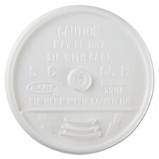 Sip-Through Plastic Lids for 10, 12, 14 oz. Foam Cups (Carton of 1,000)