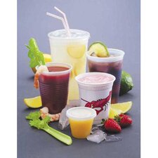 <strong>FABRI-KAL®</strong> 16 Oz Drink Cups in Clear