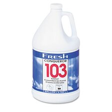 <strong>FRESH PRODUCTS</strong> Conqueror 103 Odor Counteractant Concentrate, 1 Gal Bottle, 4/Carton