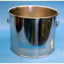 Stainless Steel 5 Gallon Round Mop Bucket without Casters