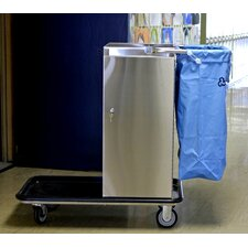 Escort Stainless Steel Housekeeing Cart