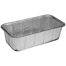 Aluminum Baking Loaf Pan 2 lbs - 200/Case