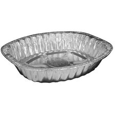 Aluminum Roasting Oval Container