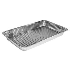 "2.2"" Deep Full-Size Steam Table Aluminum Pan - 50/Case"