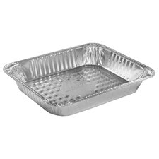 "2.19"" Deep Half-Size Medium Steam Table Aluminum Pan"