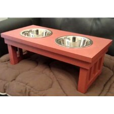Habitat 'n Home™ Raised Double Pet Diner
