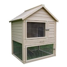 ecoChoice Huntington Townhouse Rabbit Hutch