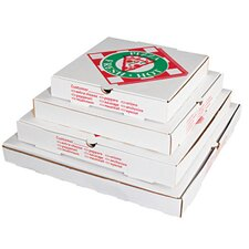 "18"" Takeout Pizza Container in White"
