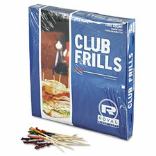 Club Cellophane Frill Pick