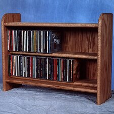 Deluxe 110 CD Multimedia Tabletop Storage Rack