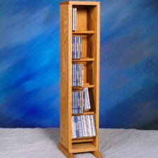 500 Series 70 CD Dowel Multimedia Storage Rack