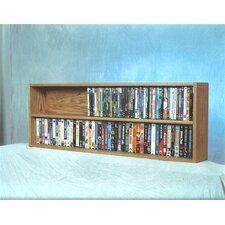 200 Series 176 DVD Multimedia Tabletop Storage Rack