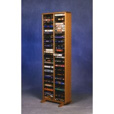200 Series 80 VHS Multimedia Storage Rack