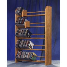 <strong>Wood Shed</strong> 500 Series 275 CD Multimedia Storage Rack