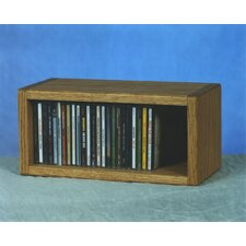 <strong>Wood Shed</strong> 100 Series 32 CD Multimedia Tabletop Storage Rack