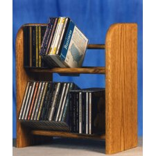 <strong>Wood Shed</strong> 200 Series 52 CD Dowel Multimedia Tabletop Storage Rack