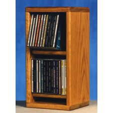<strong>Wood Shed</strong> 200 Series 28 CD Multimedia Tabletop Storage Rack