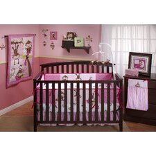 3 Little Monkey Crib Bedding Collection