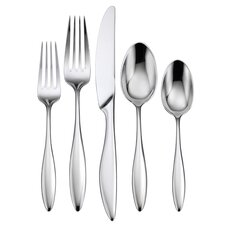 LTD 5 Piece Asteria Flatware Set