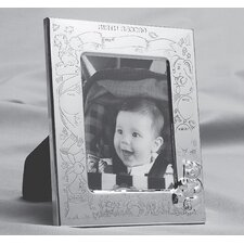 Stainless Steel Silver Plated Birth Record Frame