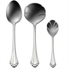 Stainless Steel Marquette 3 Piece Hostess Set