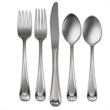 45 Piece Satin Sand Dune Flatware Set