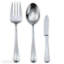 Stainless Steel Compose 3 Piece Serving Set