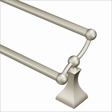 "<strong>Creative Specialties by Moen</strong> Retreat 24"" Double Towel Bar"