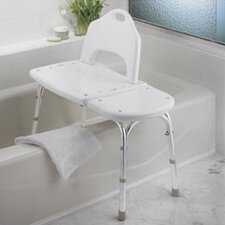 <strong>Creative Specialties by Moen</strong> Adjustable Transfer Bench