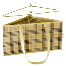 Plaid Hanger Hamper
