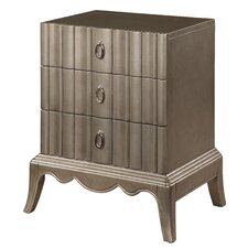 Modern 3 Drawer Commode Chest