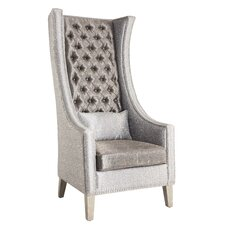 """Winmark""  Tufted Back Empress Arm Chair"