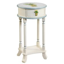 <strong>Gail's Accents</strong> Shoreline Betsy Drake Pineapple End Table