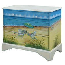 <strong>Gail's Accents</strong> Shoreline Adirondack 4 Drawer Chest
