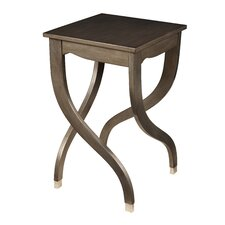 <strong>Gail's Accents</strong> Modern Leaf Crazy End Table