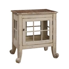 Cottage Window Pane Commode