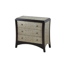 <strong>Gail's Accents</strong> Chambery 3 Drawer Side Chest