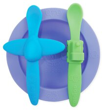 Baby Mealtime Set in Purple