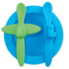 <strong>Oogaa</strong> Baby Mealtime Set in Blue
