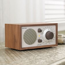Model One Radio in Walnut / Beige