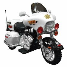 12V Battery Powered Police Motorcycle