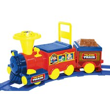 Talking Train Ride-On Toy with Track