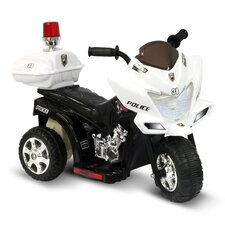 <strong>Kidz Motorz</strong> Lil Patrol 6V Battery Powered Motorcycle