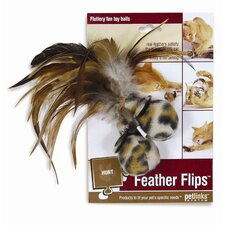 Feather Flips Cat Toy